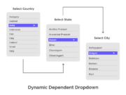 Dynamic Dependent Dropdown
